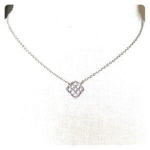Kendra Scott Decklyn Silver Necklace